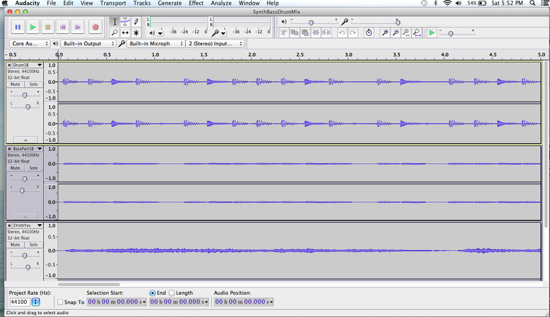 Audacity screen1